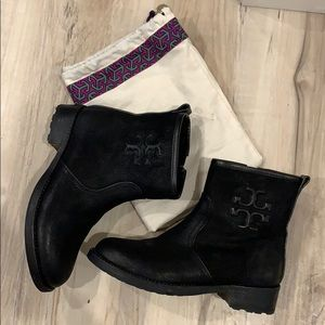 Tory Burch black boots - 5.5